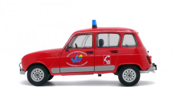 RENAULT 4L GTL - POMPIER DU VAR - 1978