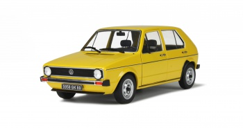 VOLKSWAGEN GOLF L - YELLOW RIYADH - 1983
