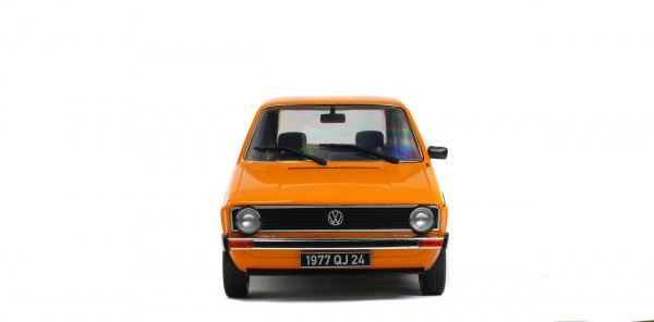 VOLKSWAGEN GOLF L - MANDARIN ORANGE - 1983