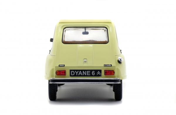 CITROEN DYANE 6 - JAUNE JONQUILLE - 1967