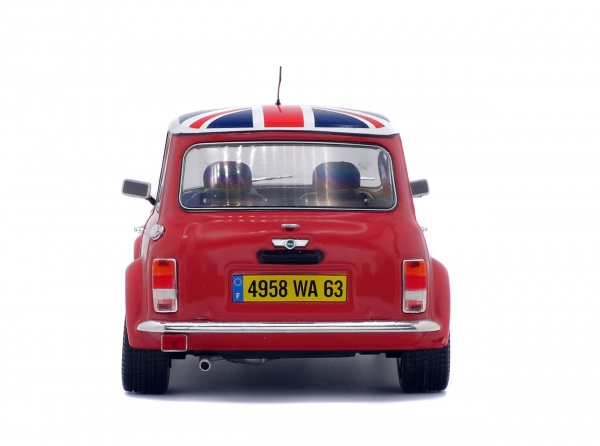 MINI COOPER SPORT - RED & ENGLISH FLAG - 1997