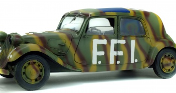 CITROEN TRACTION 11B - FFI - 1944