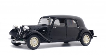 CITROEN TRACTION 11B - NOIR - 1937