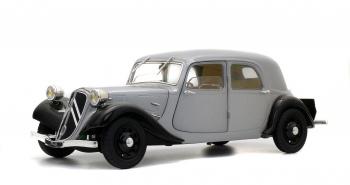 CITROEN TRACTION 11B - BI-TON ARGENT - 1937
