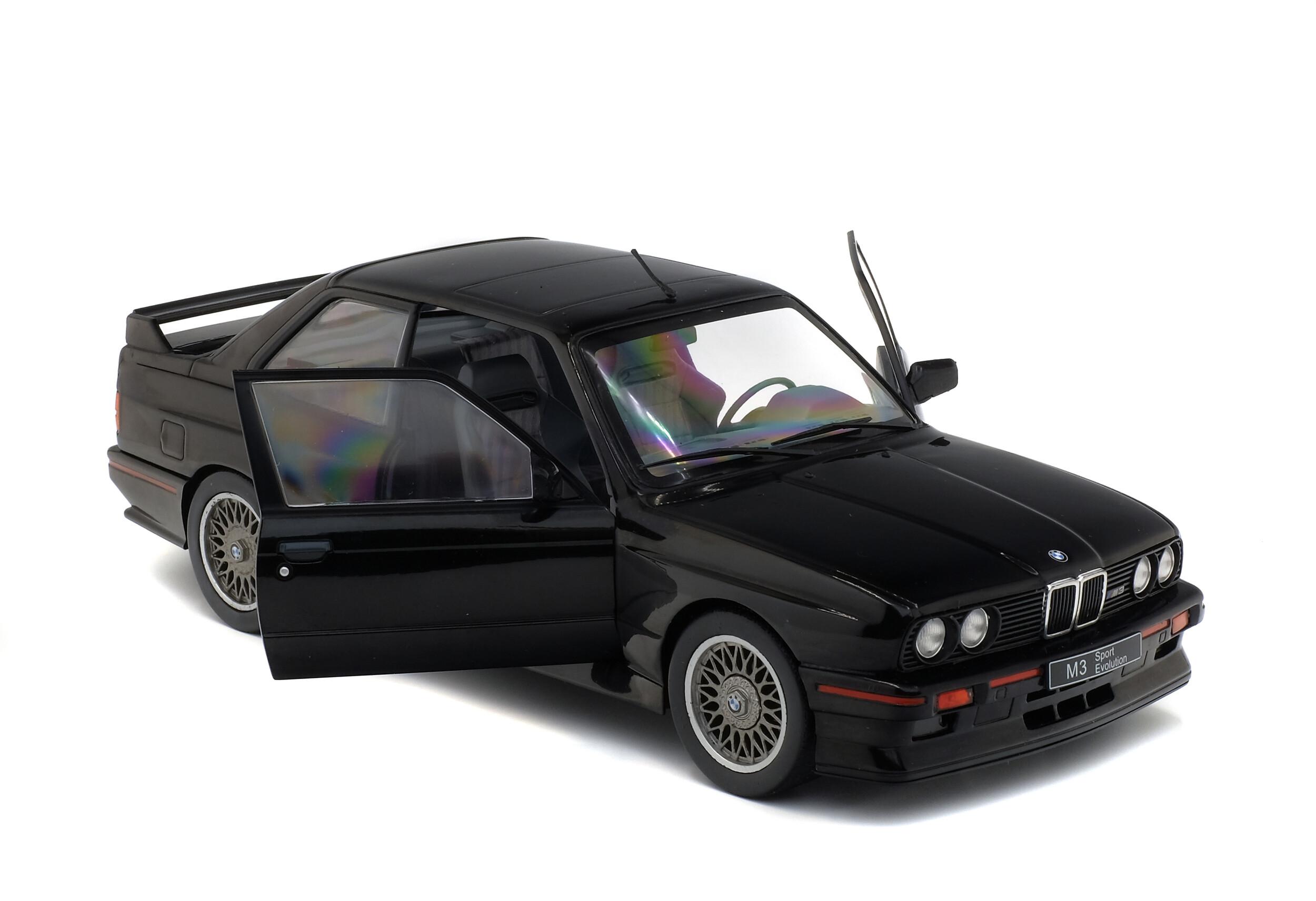Bmw E30 Sport Evo Black 1990 Solido