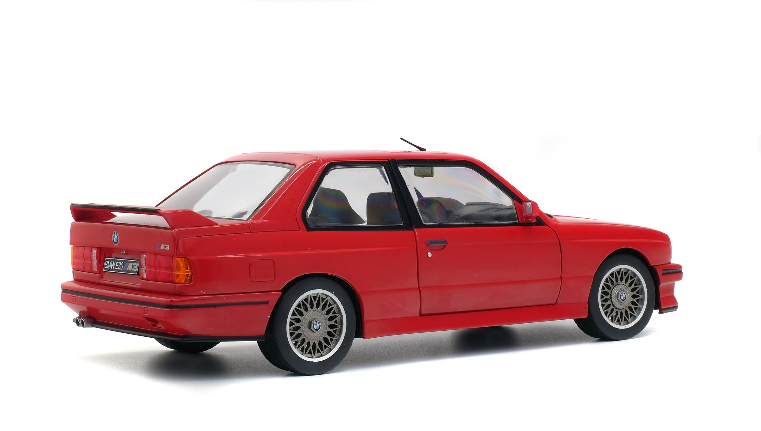 Bmw E30 M3 Red 1986 Solido