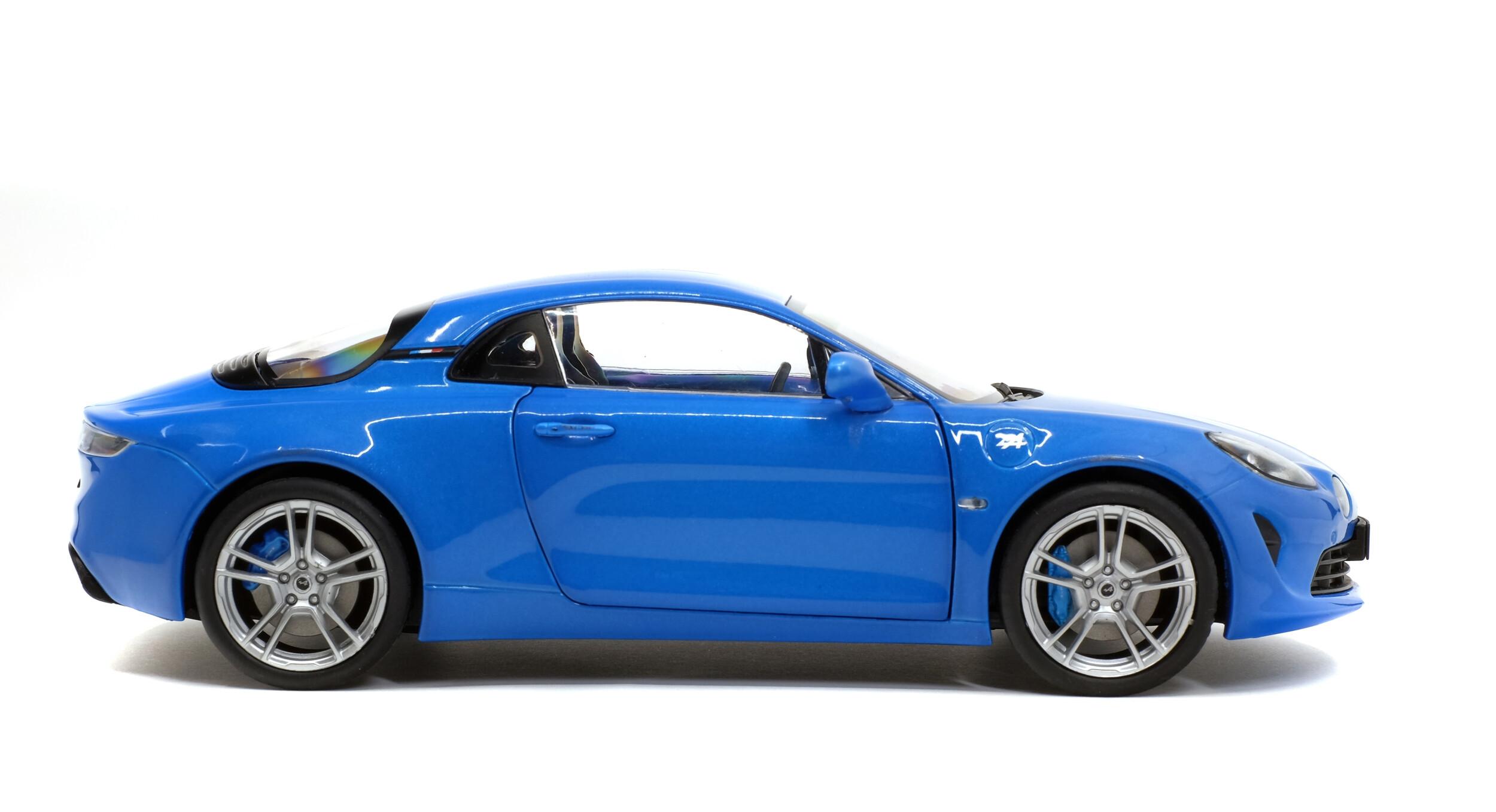 Solido Soli1801604 Alpine A110 Pure Bleu Alpine 2018 1//18