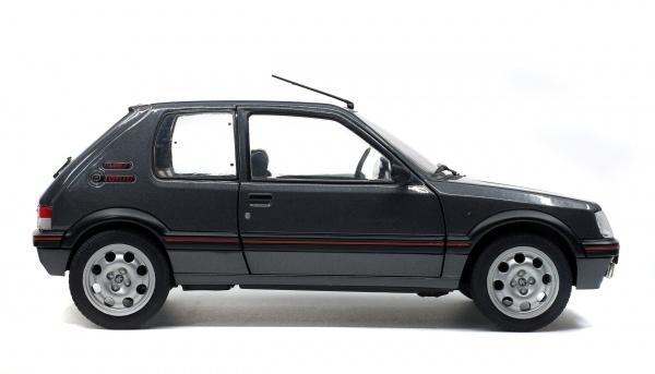 PEUGEOT 205 GTI 1.9L MK2 - GRIS MAGNUM - 1990