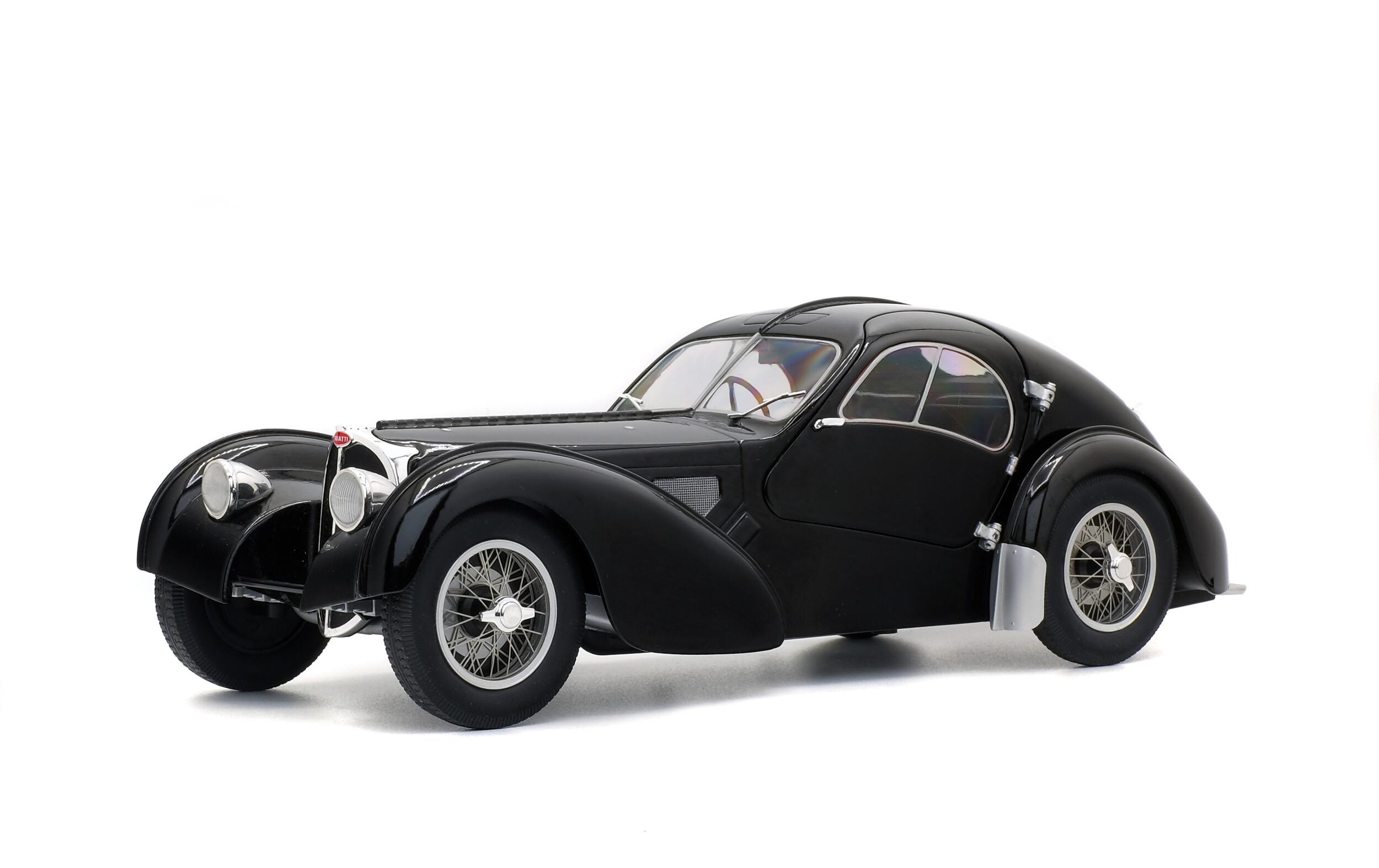 Bugatti Type 57 Sc Atlantic Black 1937 Solido