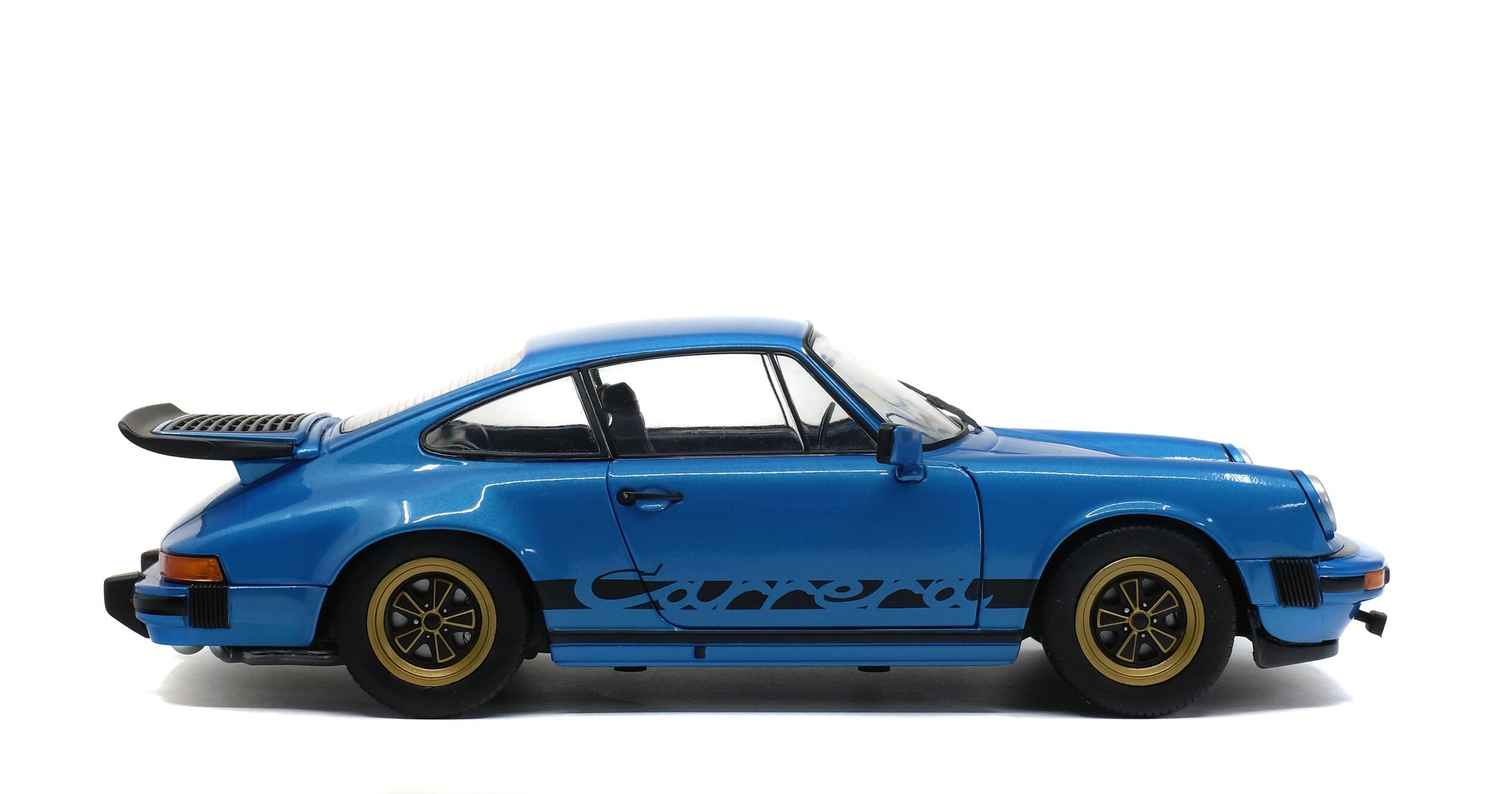 Porsche 911 Carrera 3 0 Coupe Minerva Blue 1984 Solido