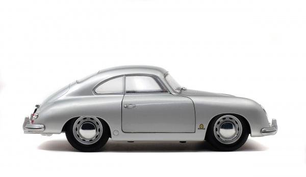 PORSCHE 356 PRE-A - SILVER - 1953