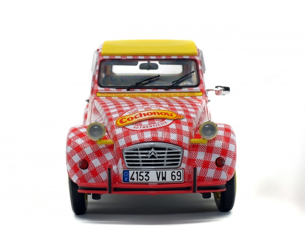 CITROEN 2CV6 - TOUR DE France - COCHONOU - 2019