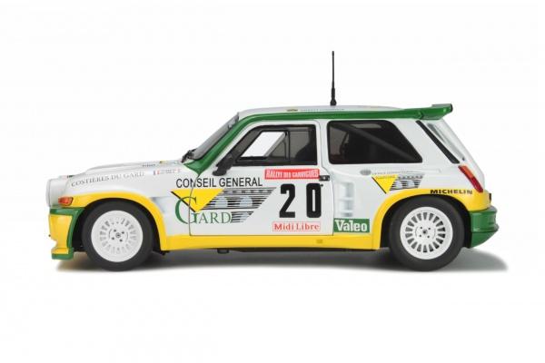 RENAULT MAXI 5 TURBO - RALLYE DES GARRIGUES 1986 - P.TOUREN #20