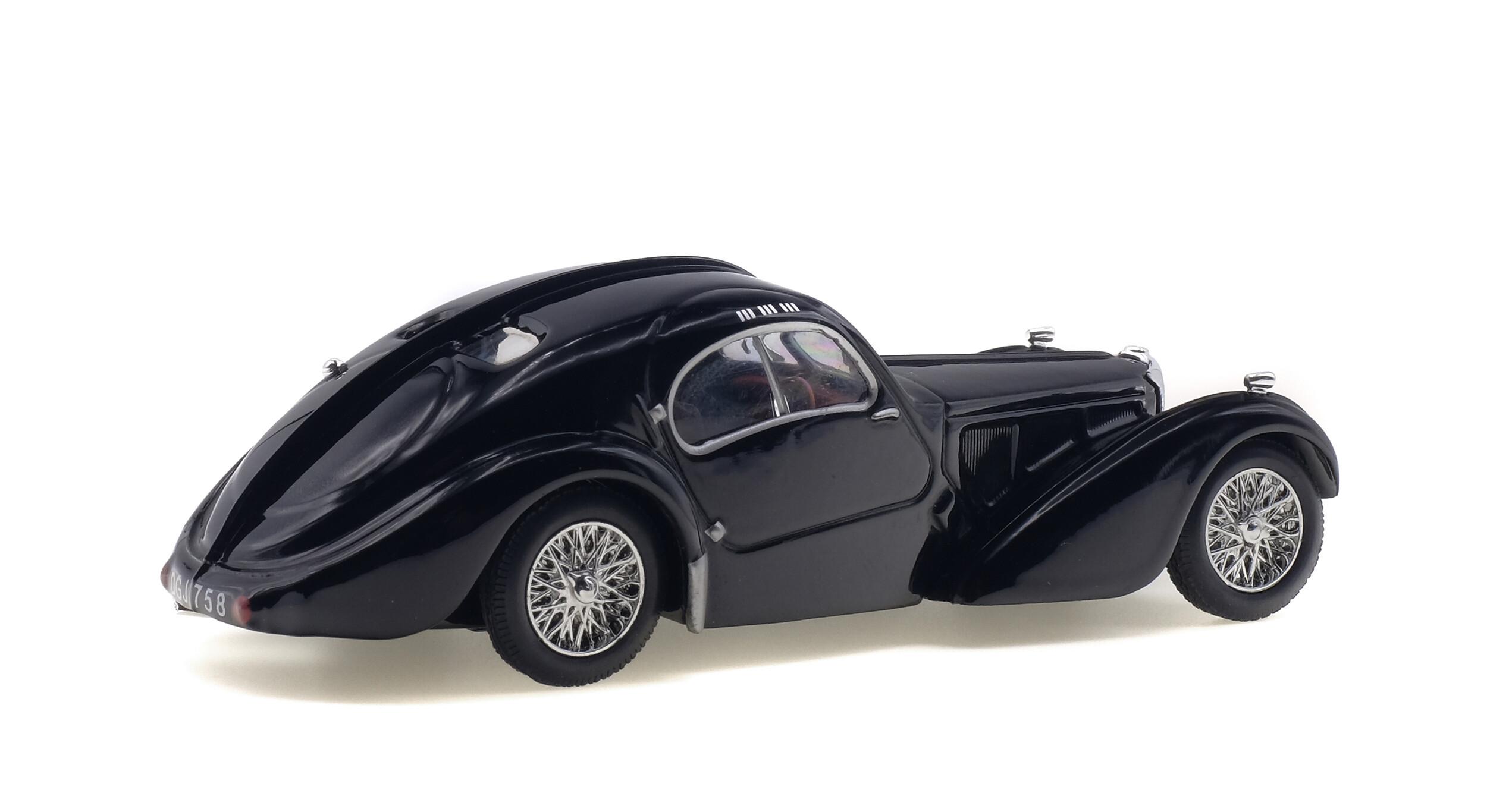 BUGATTI - ATLANTIC TYPE 57SC - 1937 - Solido