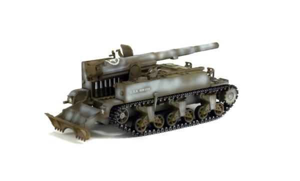 M12 GUN MOTOR CARRIAGE 155MM - France - 1944