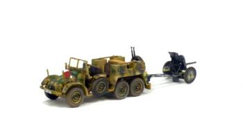 KRUPP PROTZE - L2H143 (kfz.69) AVEC PAK 35/36 - FRANCE - 1944