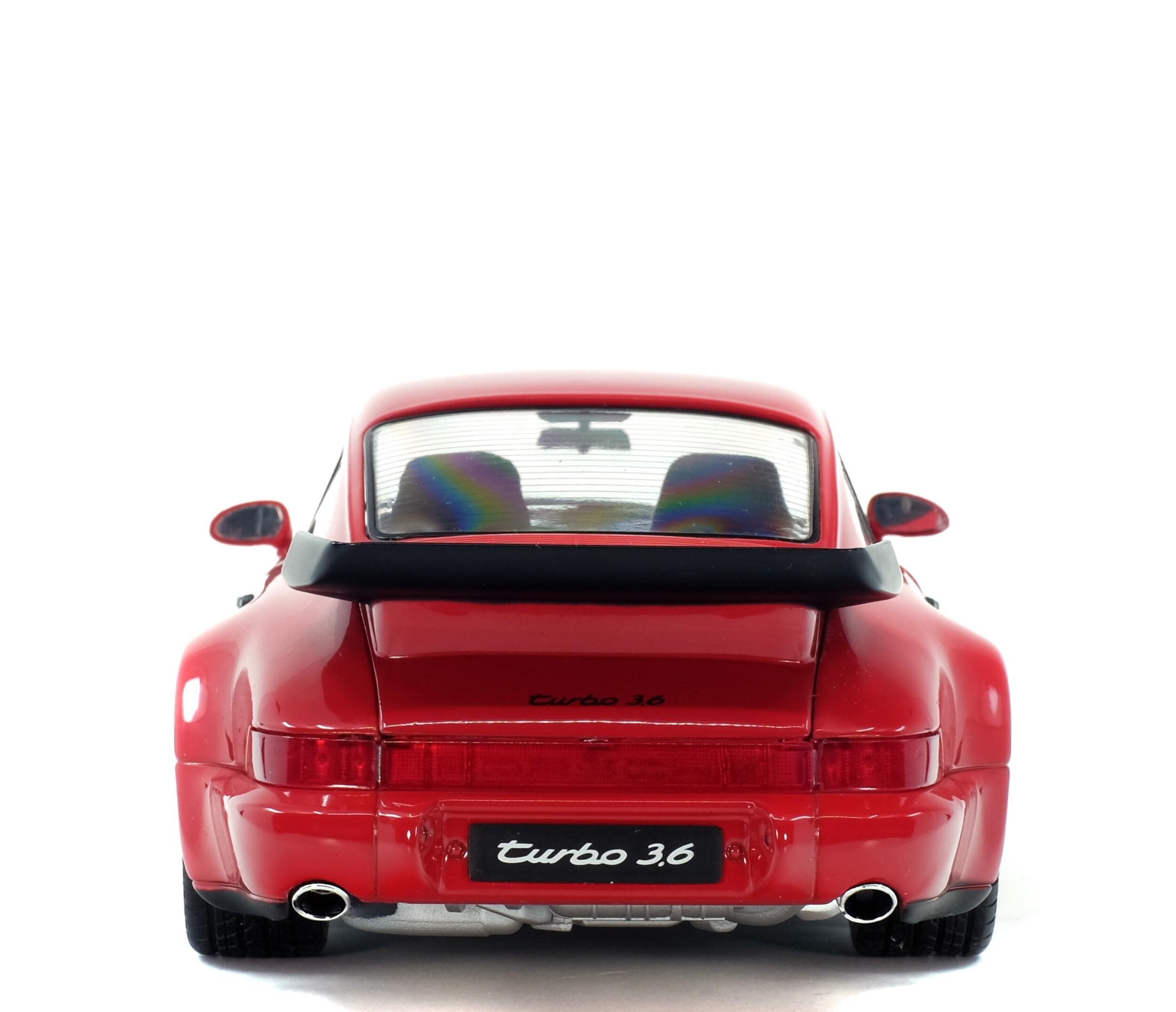 Porsche 911 964 Turbo 3 6 Rouge Indien 1990 Solido