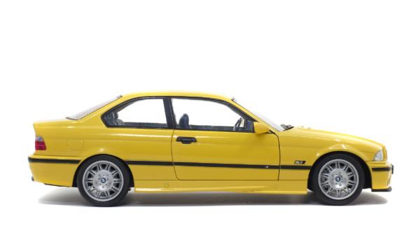 BMW E36 COUPE M3 - JAUNE DAKAR - 1994