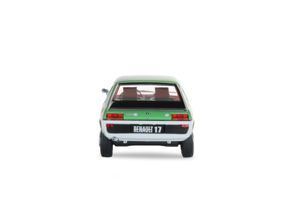 RENAULT R17 MK1 - VERT METAL VERNIS - 1976
