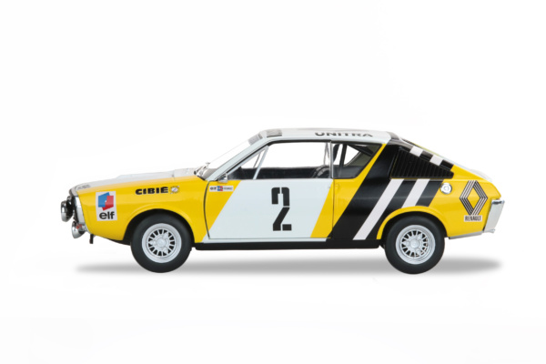 RENAULT R17 RALLYE DE L'HIVER RUSSE 1976 - B.KRUPA / P.MYSTKOWSKI