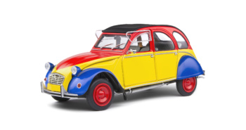 CITROEN 2CV6 - COLOREE - 1985