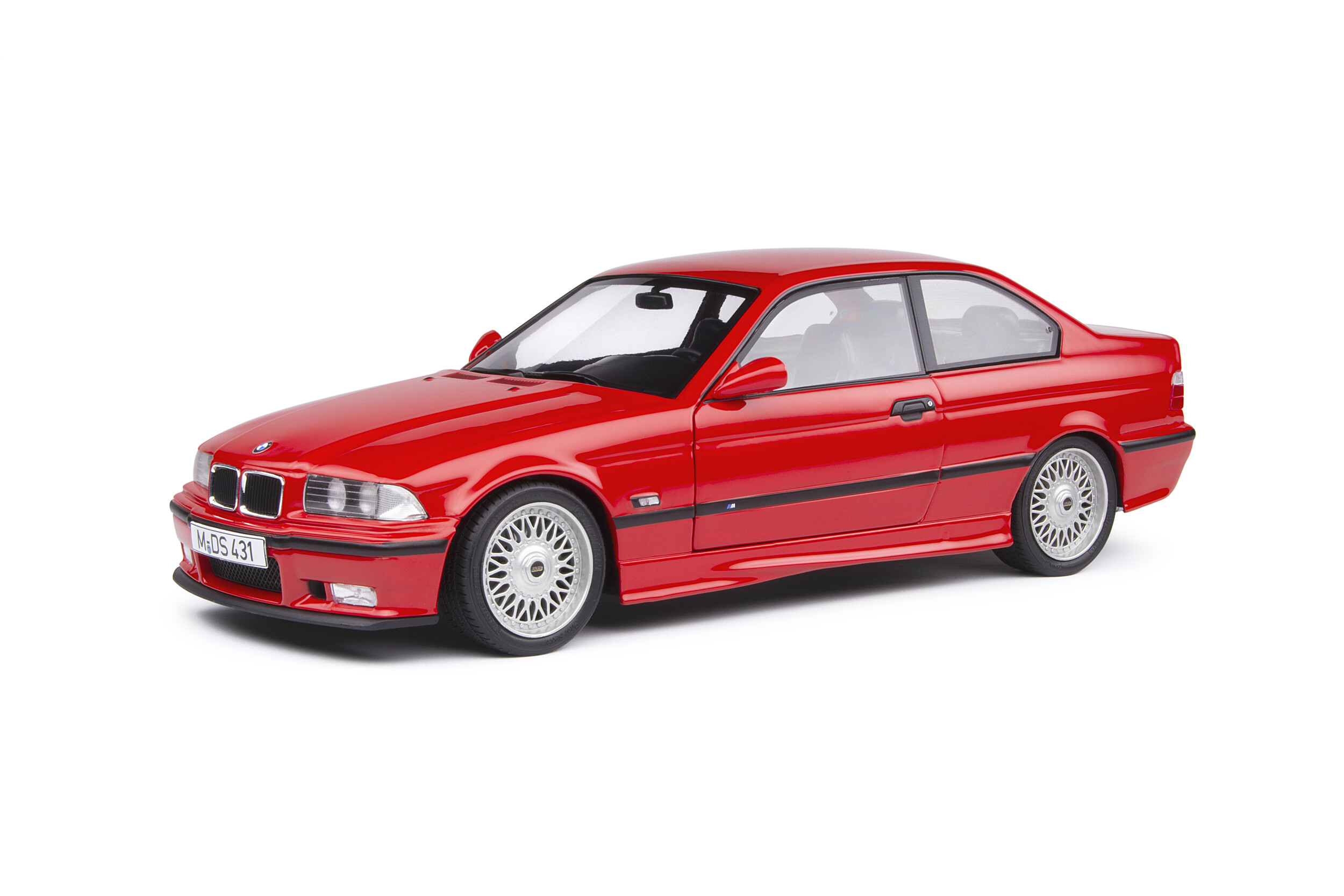 Bmw E36 Coupe M3 Red 1994 Solido