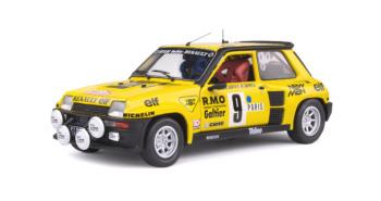 Renault 5 Turbo - Rallye Monte-Carlo - 1982 - #9 B.SABY