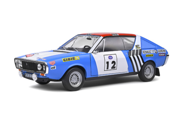 Renault 17 Gordini - Rallye Press on Regardless - 1974 - #12 J.L.THERIER