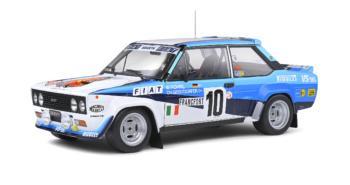 Fiat 131 Abarth - Rallye de Monte-Carlo - 1980 - #10 W.ROHRL