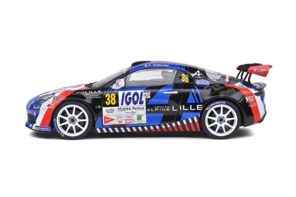 Alpine A110 Rally - Rallye du Mont Blanc - 2020 - #11 F.DELECOUR