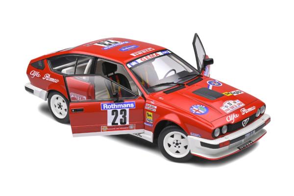 Alfa Romeo GTV6 - Tour de Corse - 1985 - #23 LOUBET / VIEU