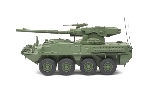 General Dynamics Lan Systems M1128 MGS Stryker - Green Camo - 2002