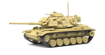 Chrysler Defense M60 A1 Tank - Desert Camo - 1959