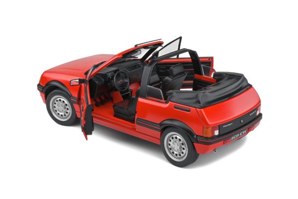 Peugeot 205 CTI - Rouge Vallelunga - 1986