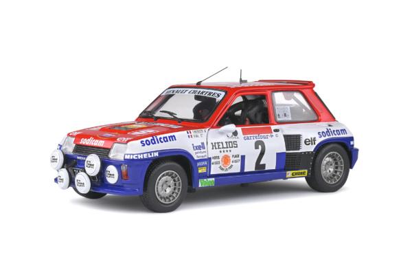 Renault 5 Turbo - Rallye d'Antibes - 1983 - #7 J.L.THERIER