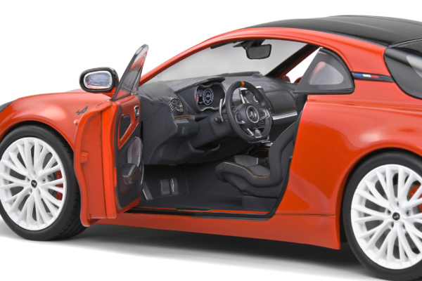 Alpine A110S Heritage Colors - Orange Sanguine - 2021