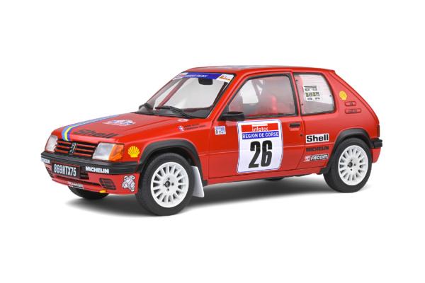Peugeot 205 Rallye - Tour de Corse - 1990 - #26 H.DEVIN/F.VISTE